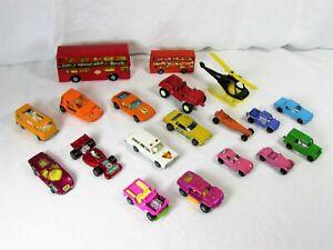 1960's / 1970's Matchbox, Redline Hot Wheels, Tootsie Toy, Corgi Toys Car Lot