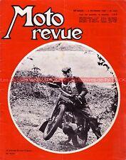 MOTO REVUE 1863 GREEVES ; HARLEY DAVIDSON ; TRIAL USSON Records de vitesse 1967
