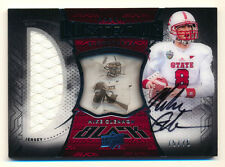 2013 EXQUISITE UD BLACK MIKE GLENNON RC JERSEY AUTO CHICAGO BEARS #75/75 1/1!