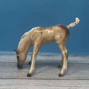 Old Hagen Renaker Monrovia Palomino Scamper Morgan Foal Repaired