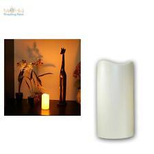 LED Kerze 15cm mit Timer für Außen Outdoor-Kerzen elktrisch Stumpen candle LEDs