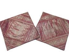 Paisley Indian Decorative Pillows Zari Decor Living Room Decorative Pillowcases