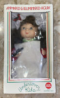 vintage national rennoc brand  Christmas animated girl baker chef