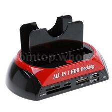 "HDD Docking Station HUB Supports all 2.5""/3.5"" IDE and 2.5""/3.5""SATA Hard Disk"