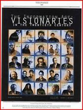 PALAU 1999  VISIONARIES M/S MNH COMPUTERS, COMMUNICATIONS, JUDAICA, SCIENCE