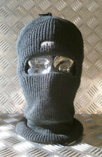 Black One (1) Hole Thinsulate Balaclava / Beanie Hat - Very Warm - Brand New