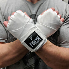 "Forza Sports 180"" Mexican Style Boxing and MMA Handwraps - White"