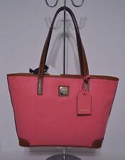 Dooney & Bourke Charleston Shopper Tote/Handbag/Purse Light Pink Leather NWT