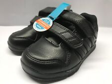 Adidas Boys Infant Trainers Toddler Black Velcro Size 6 EU 23 New £14.99