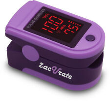 Zacurate 500DL Purple Finger Pulse Oximeter SpO2 Blood Oxygen Saturation O2