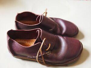 Yogi Caden Shoes - Oxblood - UK 8 EU 42
