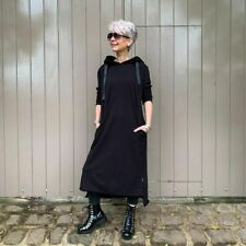 M Theory London Clover Hooded Sweat Maxi Jumper Dress