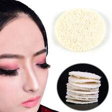 10x Natural Loofah Luffa Carnagione facciale Skin Disc Pad Spugna esfoliante CH