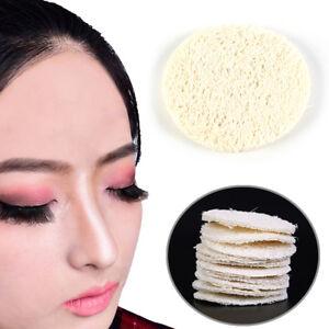 10X Natural Loofah Luffa Facial Complexion Skin Disk Pads Exfoliator Sponge HGBE