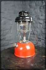 Tilley / Bullfinch Paraffin Lantern - Red / Brass - Vintage Pressure Lamp