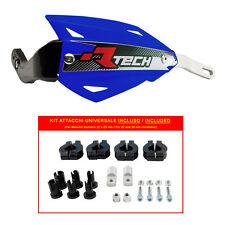 PARAMANI RACETECH VERTIGO ALU BLU + KIT MONTAGGIO (Handguards + Fitting Kit)
