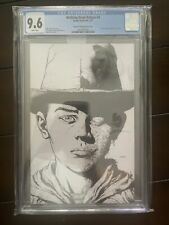 The Walking Dead Deluxe #4 Cgc 9.6 1:25 Finch 2nd Print B&W Sketch Variant image