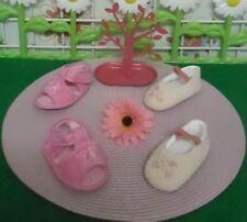 lot paires de chaussures bébé fille 6/9 mois,ballerines,sandales CREEKS