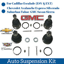 Top Quality  Warranty 4pc Front & Upper Ball joint For Cadillac Chevrolet GMC