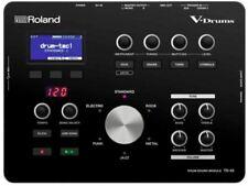 Roland TD 25 Drum-Modul mit Multicore-Triggerkabel und Modulhalteplatte
