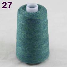 Vente nouveau 100 G Cône doux Pure cashmere Main Tricot Crochet Fil Wrap Châle 27