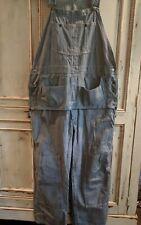 Vintage Sears Union Made Weartuff Railroad Stripe Carpenter Overalls 44 x 28