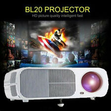 LESHP Video Projector 2600 LM Home Cinema Theater Support 1080P HD-3D BL20 USA