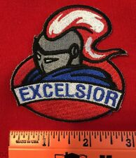 Excelsior Patch Of Titan Or Spartan Or Knight in Shining Armor Logo