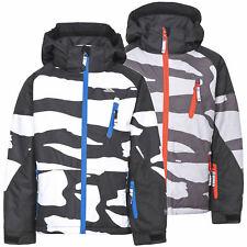Trespass Shredded Boys Waterproof Insulated Ski Jacket