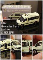 1/64 TINY DIE-CAST  - Mercedes-Benz Sprinter AM2777 Hong Kong AFCD Toysoul 2018