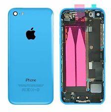 Coque arriere chassis iphone 5c bleu complet pré assemblé neuf