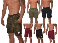 Gym Shorts for Men Cotton Workout Athletic Basketball with pockets Running 112