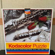 1994 Kodacolor STUDY OF MUSIC Jigsaw PUZZLE 1000pc NEW SEALED Musical Instrument