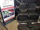 Ford Xw Gt/fairmont Seat Trim Covers,full Set In Black Or Saddle genuine matiria