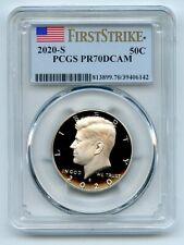 2020 S 50C Kennedy Half Dollar PCGS PR70DCAM First Strike
