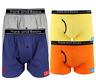 4 x Mens Underwear Factory Pack Boxer Shorts Boxer Briefs Cotton Variety Pack