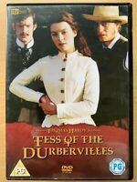 Tess of the D'Urbervilles DVD 1998 Thomas Hardy British TV Mini Series