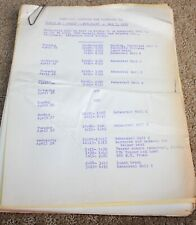 PLAYHOUSE 90 TV SHOW SCRIPT EPISODE DIARY OF A NURSE
