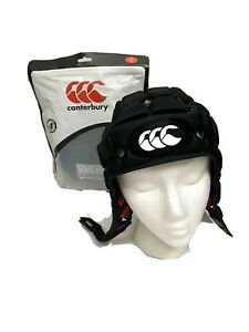 Canterbury Ventilator Headgear Rugby Head Protection Large Black Reg 12 Approved