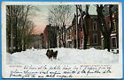 CPA Canada: Montreal - Mountain street in winter / 1907