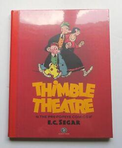 Thimble Theatre Pre-Popeye Comics NEW HC Sunday Press Graphic Novel Comic Book