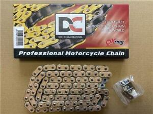 DC Motorcycle Chain Gold MZX3 QX Ring 525 x 118 Links KTM 990 Adventure 2006-12