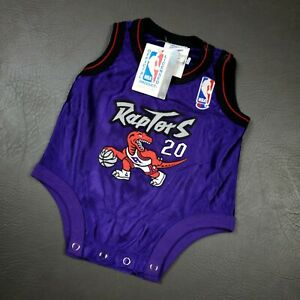 100% Authentic Damon Stoudamire Champion Raptors Jersey Size 3-6 Months Baby