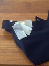 Cappotto da AGNONA Uomo Nero Taglia UK 44/EU 54 Nero Nuovo di Zecca 100% puro Cashmere