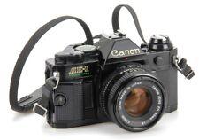 Canon AE-1 Program Lens Canon 50mm 1.8 FD    (Réf#L-003)