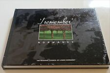"""LIVRE  """"I REMEMBER, NORMANDY"""" DDAY  6 juin 1944 débarquement OVERLORD, neuf, NEW"""