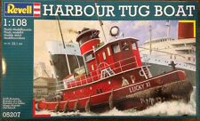 Revell 1/108 Harbour Tug Boat Plastic Model Kit 05207