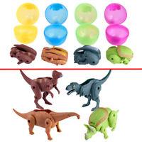 Easter Surprise Eggs Dinosaur Toy Model Deformed Dinosaurs Egg LMXJ