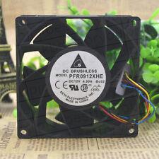 1 PCS Delta Fan PFR0912XHE DC 12V 4.50A 90*90*38mm #M4033 QL