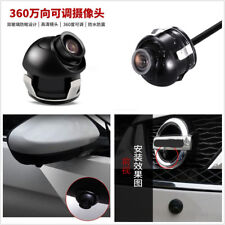 360 Degrees Rotatable CCD Car Front/Side View Back-up Camera Recorder Waterproof